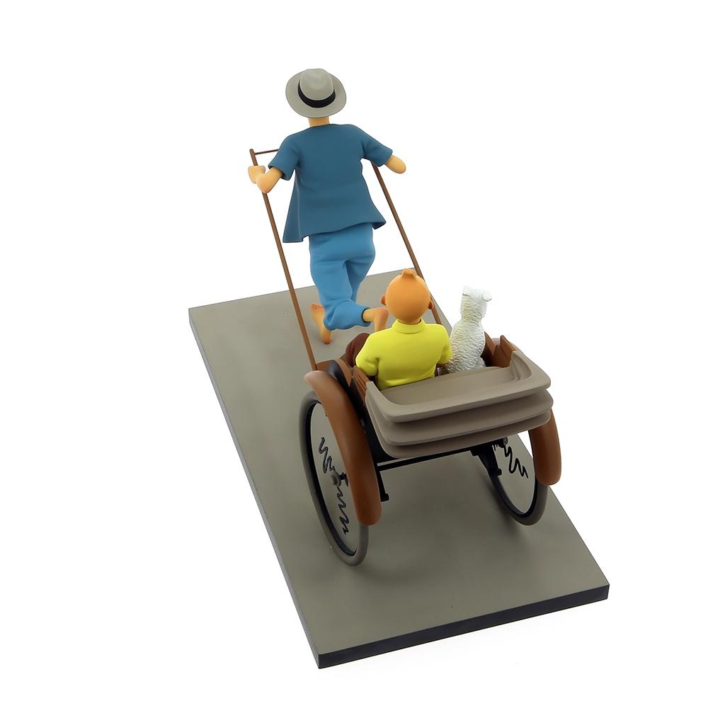 Figura-Moulinsart-Fariboles-Tintin-y-Milu-en-el-Rickshaw-44021-2017