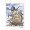 Ex-libris Offset Homenaje de Thierry Girod a Thorgal 02 (21x14,5cm)
