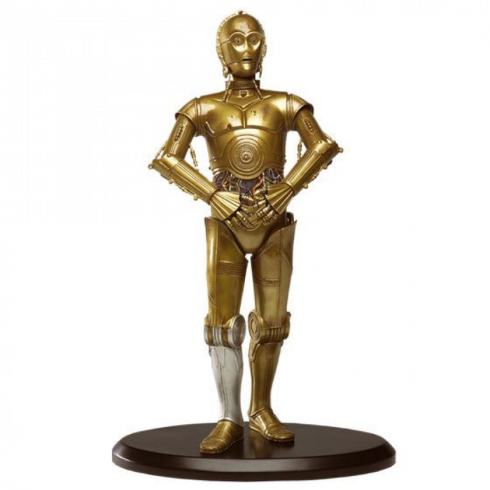 Figurine de Collection Star Wars: C-3PO V2 Attakus 1/10 - SW019 (2015)