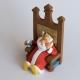 Figurine de collection Fariboles Johan et Pirlouit le Roi avec Schtroumpf (2017)