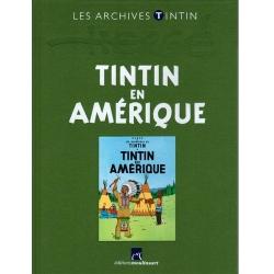 Les archives Tintin Atlas: Tintin en Amérique, Moulinsart, Hergé FR (2011)