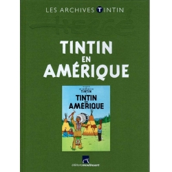 Los archivos Tintín Atlas: Tintin en Amérique, Moulinsart, Hergé FR (2011)