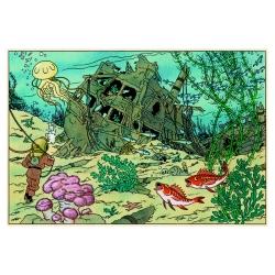 Livre de Tintin Tous les secrets de la Licorne, Gallimard / Moulinsart (2017)