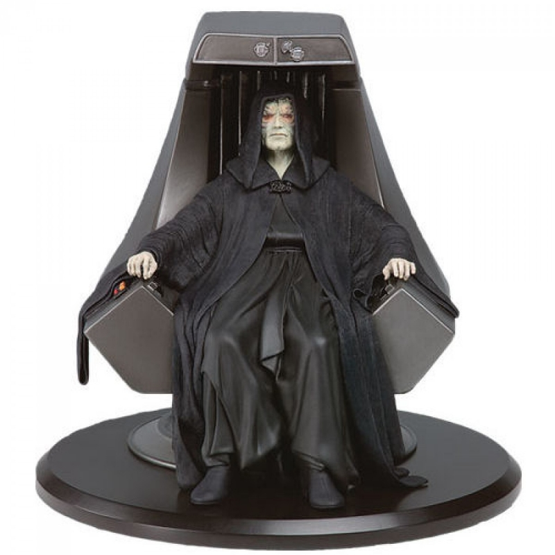 star wars statue emperor palpatine imperial throne attakus 1 10 sw023 bd addik. Black Bedroom Furniture Sets. Home Design Ideas