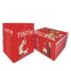 Cofre colección de los álbumes de las aventuras de Tintín 4450-8 (Castellano)