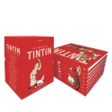 Collectible box of the albums of the adventures of Tintin 4450-8 (Spanish)