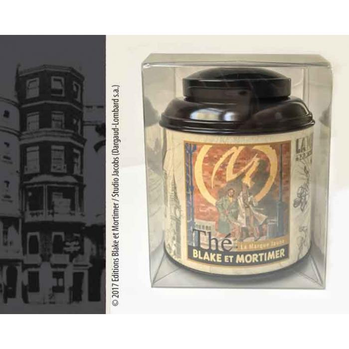 Caja de Té Earl Grey Blake y Mortimer La Marca Amarilla (BM198)