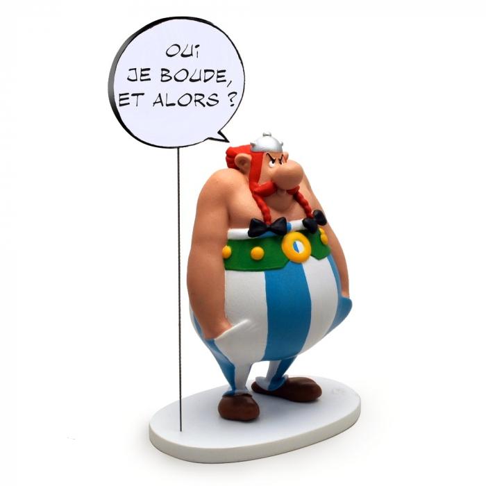 Figurine de collection Plastoy Astérix Obélix oui je boude et alors 00126 (2017)