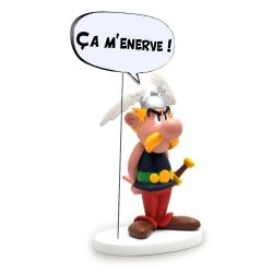 Figura de colección Plastoy Astérix ça m'énerve ! 00125 (2017)