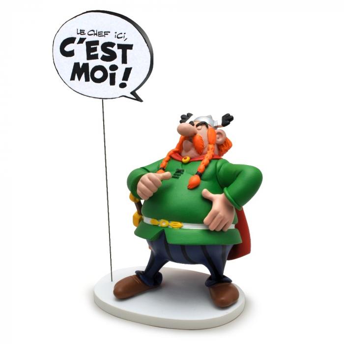 Figurine Plastoy Astérix Abraracourcix le chef ici, c'est moi ! 00127 (2017)