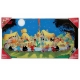 Collectible Glass Poster SD Toys Astérix The Banquet (60x30cm)