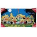 Collectible Glass Poster SD Toys Astérix The Final Banquet (60x30cm)