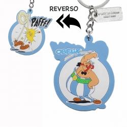 Llavero de goma SD Toys doble cara Astérix: Obélix Paff ! (2017)