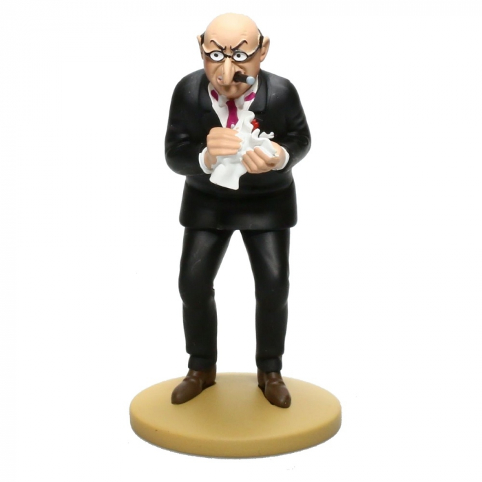 Collection figure Tintin Bohlwinkel 13cm Moulinsart Nº90 (2015)