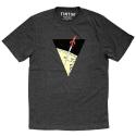 Camiseta Tintín Las aventuras de Tintín: El cohete lunar - Gris (2017)
