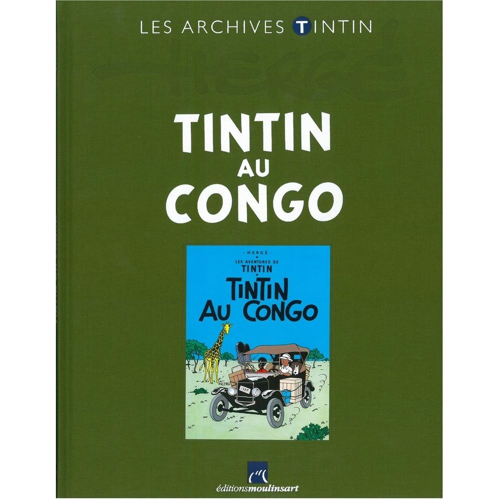 The Archives Tintin Atlas Tintin Au Congo Moulinsart
