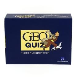 Coffret Jeux Géo Quiz 400 Questions Moulinsart Tintin (24059)