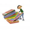 Figurine Pixi: Gaston prenant un album Piles & Faces - 6363 (2015)