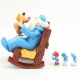 Collectible figure Pixi The Smurfs Omnibus with 3 smurfs and Puppy (2017)