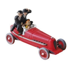 Coche de colección Tintín y Milú en el coche Amilcar Nº2 29002 (2002)