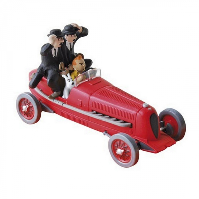 Collectible car Tintin and Snowy in The Red Bolide Amilcar Nº2 29002 (2002)