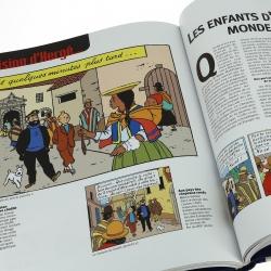 Moulinsart GEO Edition: Meeting populations Tintin FR 24058 (2017)
