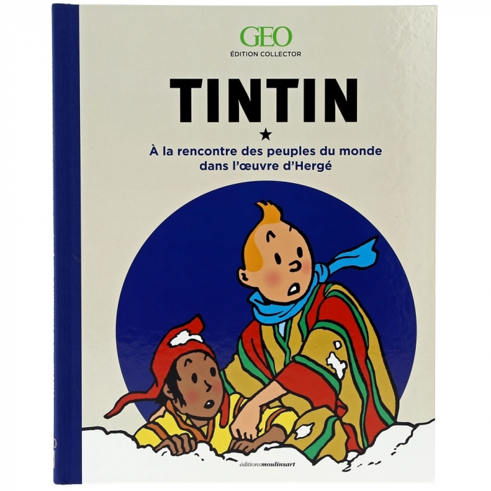 Moulinsart GEO Edition: Meeting populations Tintin FR 24058 (2017)