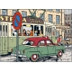 Collectible car Tintin and Snowy in The Taxi Simca Nº21 29021 (2003)