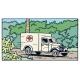 Voiture de collection Tintin: L'ambulance de l'asile Nº56 29056 (2006)