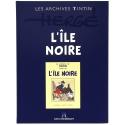 Los archivos Tintín Atlas: L'île noire B/N, Moulinsart, Hergé FR (2014)