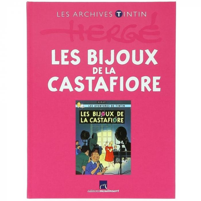 The archives Tintin Atlas: Les bijoux de la Castafiore, Moulinsart, Hergé FR (2011)