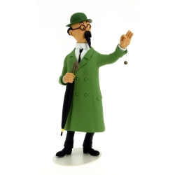 Collectible Resin Figure Moulinsart Tintin: Professor Calculus 25cm 46010 (2017)