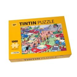 Puzzle Tintin Le Rallye de Moulinsart avec poster 50x67cm 81546 (2017)