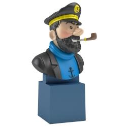 Busto de Tintín: El Capitán Haddock Moulinsart PVC 7,5cm 42478 (2017)