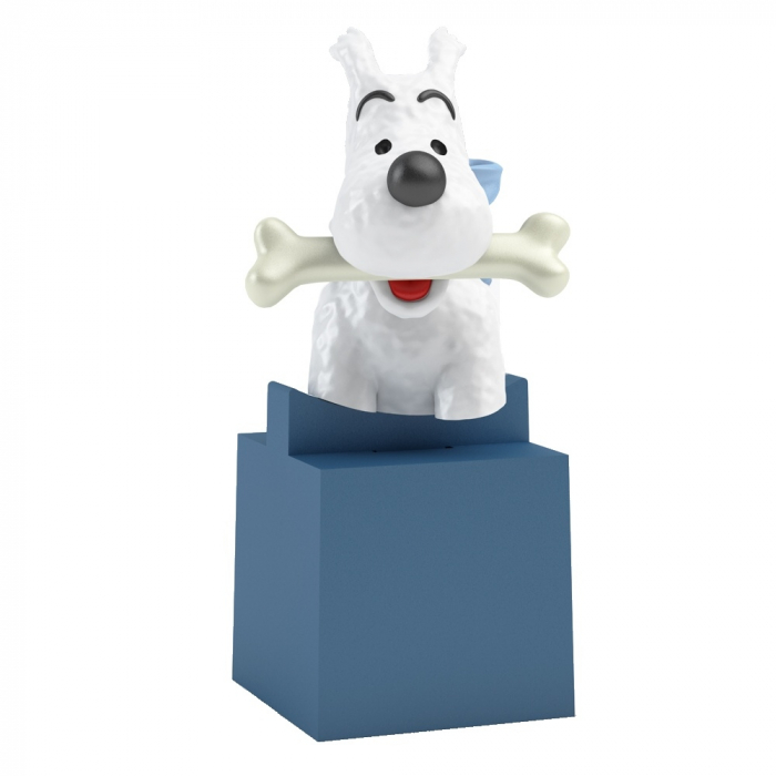 Bust Tintin: Snowy Moulinsart PVC 7,5cm 42491 (2017)