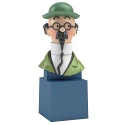 Buste de Tintin: Le Professeur Tournesol Moulinsart PVC 7,5cm 42495 (2017)
