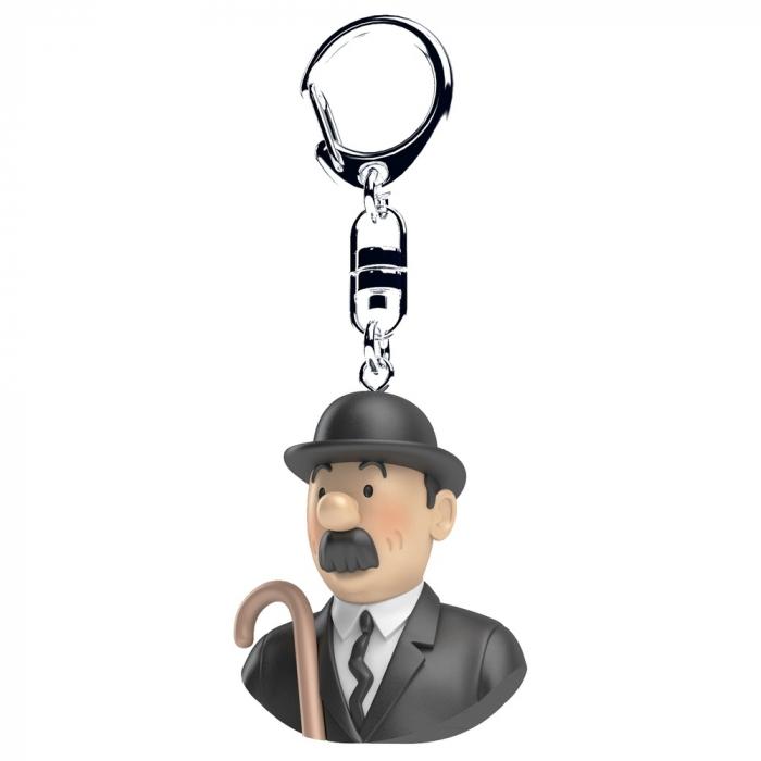 Keyring chain bust Tintin Thomson Moulinsart 4cm 42318 (2017)