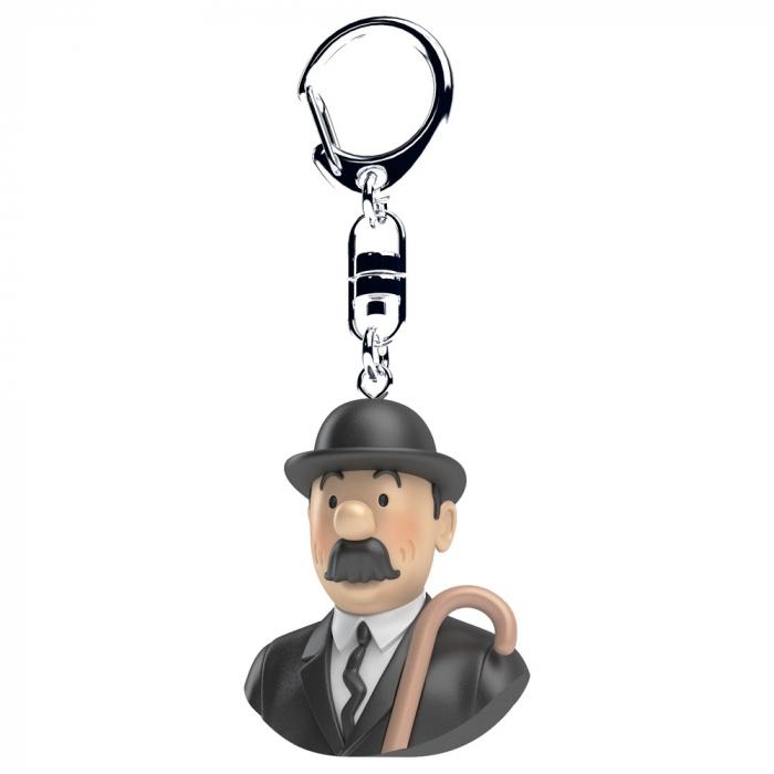 Keyring chain bust Tintin Thompson Moulinsart 4cm 42317 (2017)