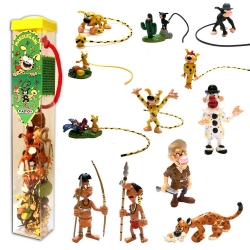 Série tube de 12 figurines de collection Plastoy Marsupilami (2015)
