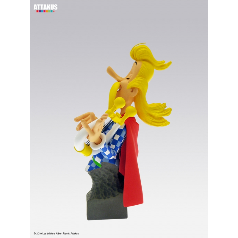 Sammel - statue  troubadix troubadix troubadix attakus petibonum (as004) 3d117b