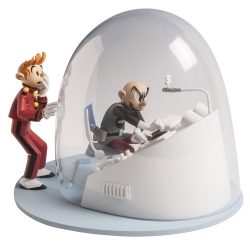 Scene Spirou and Fantasio Figures et Vous Z is for Zorglub CAF03P (2017)