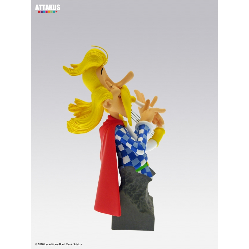 Sammel - statue  troubadix troubadix troubadix attakus petibonum (as004) af94b7
