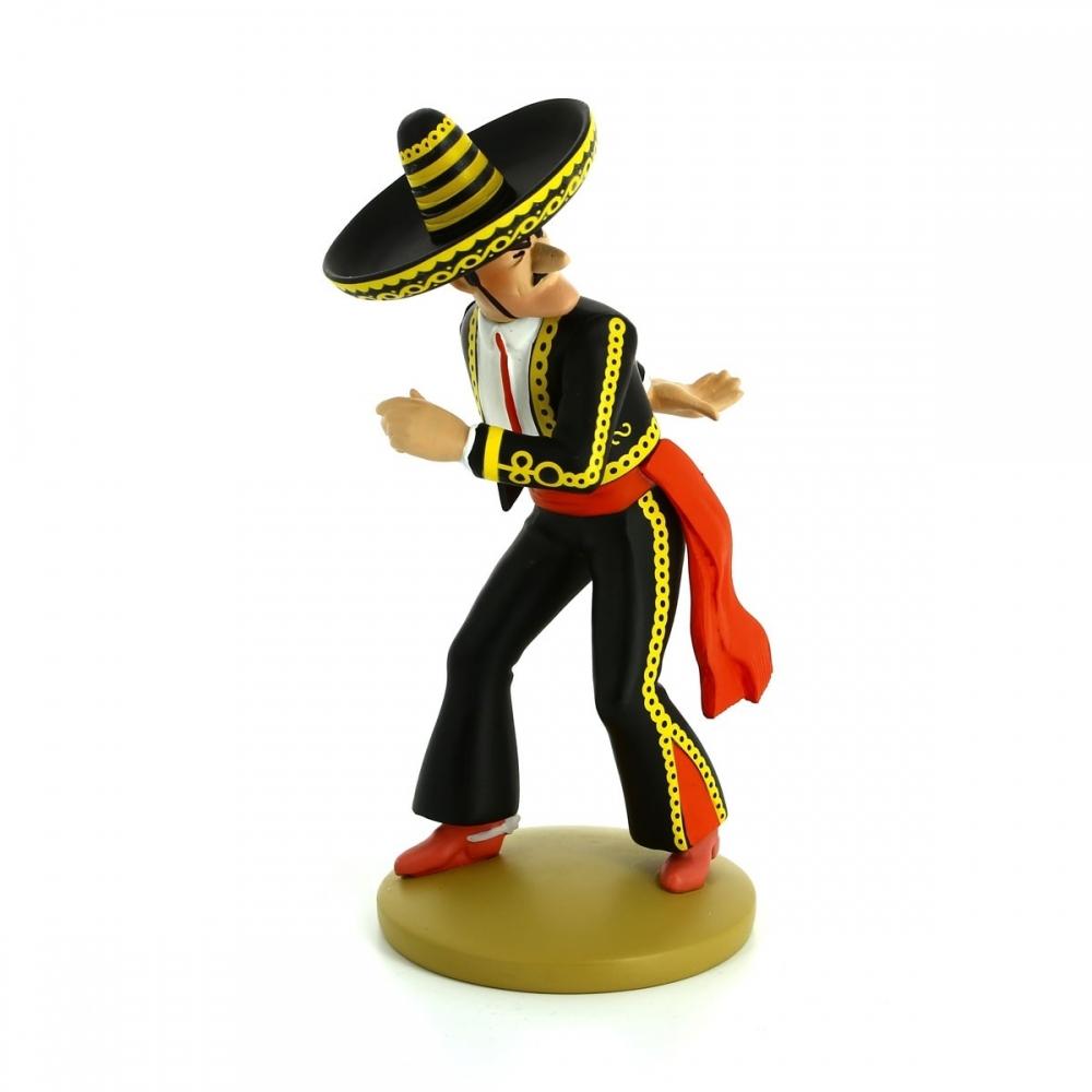 2013 Figura de colección Tintín Alcázar lanzador de cuchillos Moulinsart Nº10