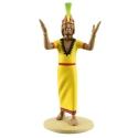 Figura de colección Tintín El Inca 13cm Moulinsart Nº27 (2013)