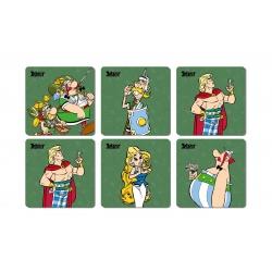 Set of 6 Asterix and Obelix SD Toys Legionary coasters 27861 (2017)