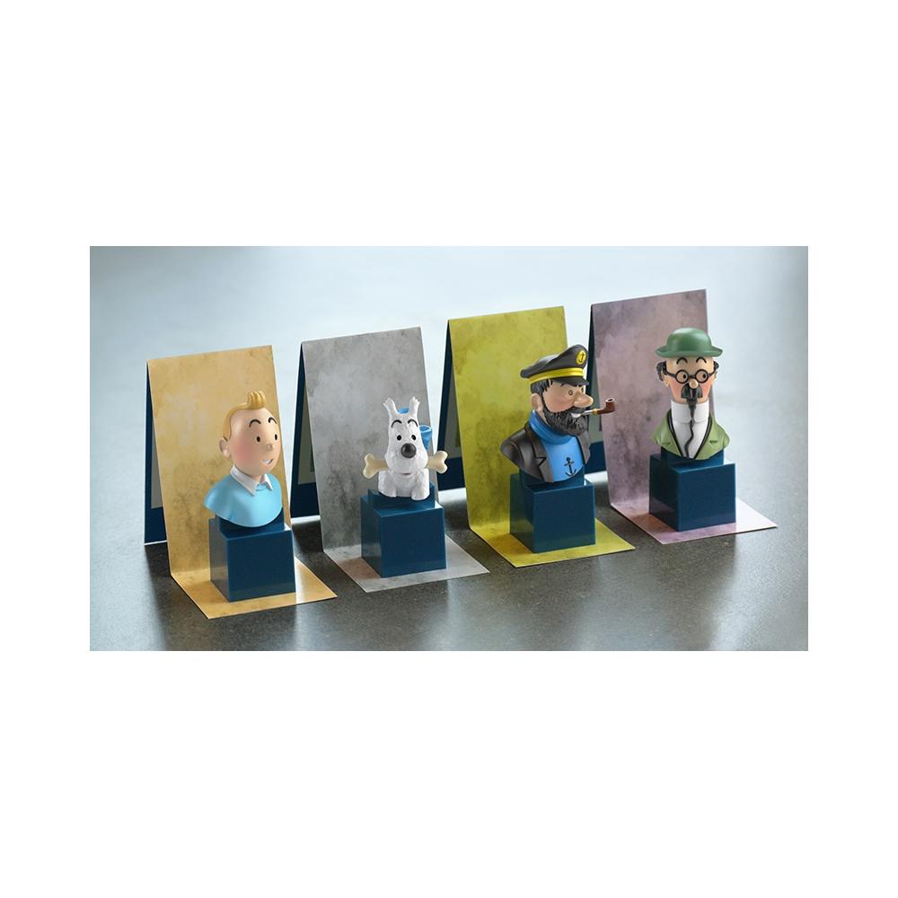 Busto de Tintín Moulinsart PVC 7,5cm 42477 2017