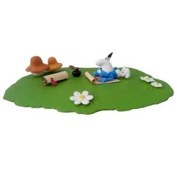 Coffret figurine de collection du Schtroumpf Poète + CAC3D Schtroumpfs (2018)