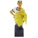 Collection Statue: Caesar yellow toga Bust Attakus Petibonum (AS006)