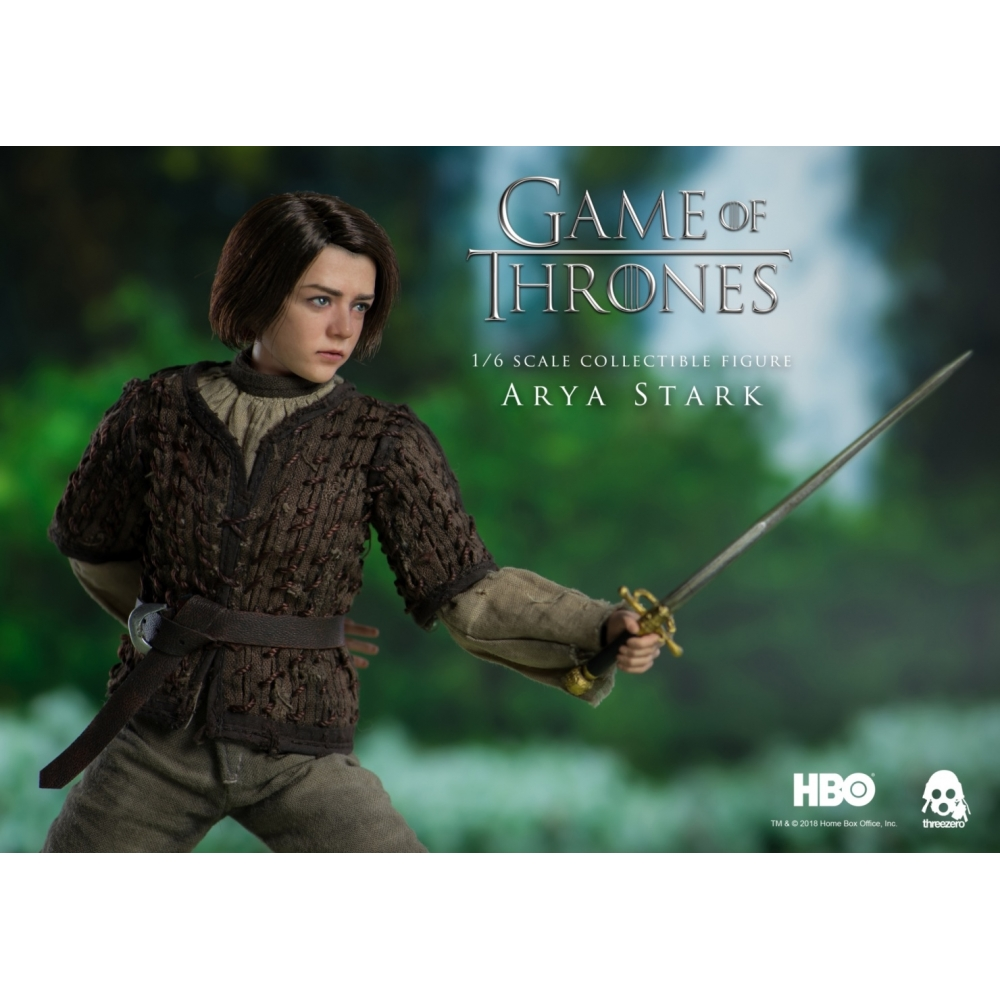 Threezero Game of Thrones Arya Stark 1//6 Scale Figure Unopened