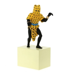 Figurine de collection Tintin L'Homme Léopard Moulinsart 31cm 46004 (2018)